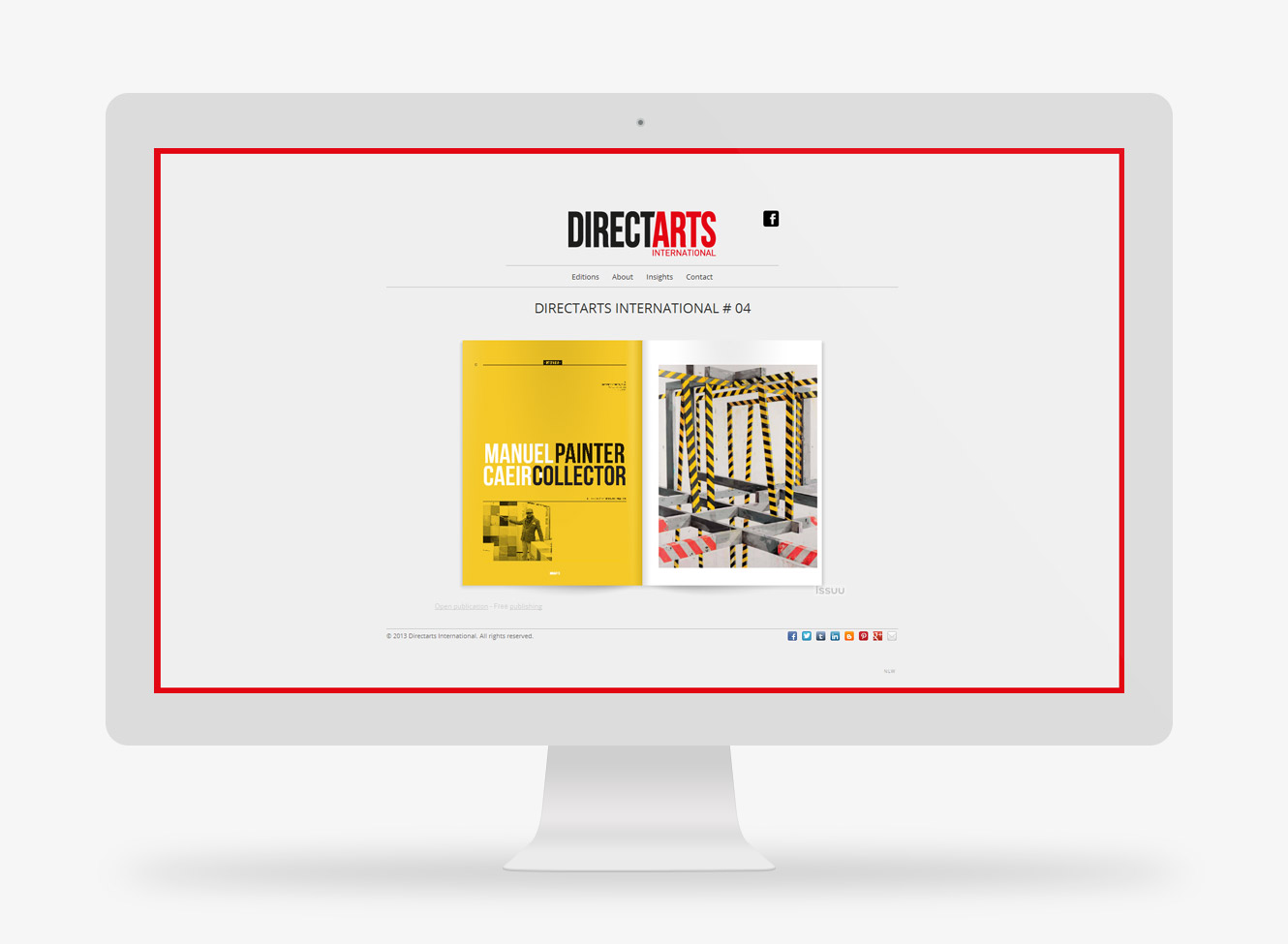 website Directarts International