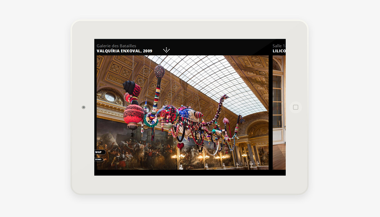 website Joana Vasconcelos Versailles