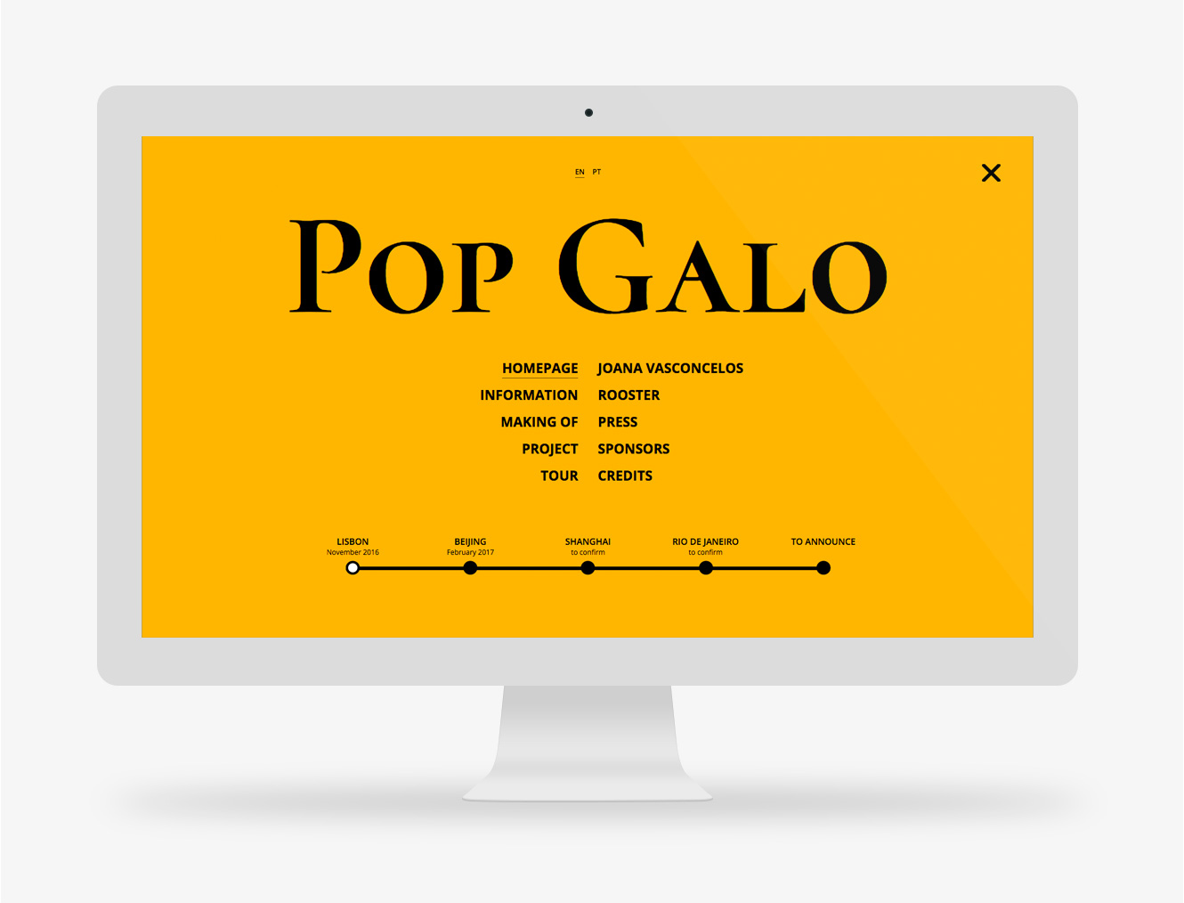 website Pop Galo